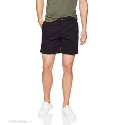 """Essentials Men's Slim-Fit 7"""" Short Black 29"""