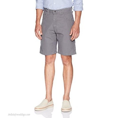 Wrangler Authentics Men's Big & Tall Classic Relaxed Fit Carpenter Short rock gray 44