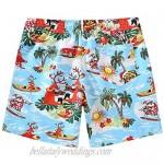 SSLR Mens Swim Trunks Quick Dry Swim Shorts with Mesh Lining Swimwear Hawaiian Bathing Suits
