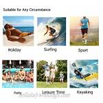 visesunny Men Swim Trunks Swimming Beach Surfing Board Shorts Swimwear Quick Dry Mesh Lining Bathing Suits with Pockets