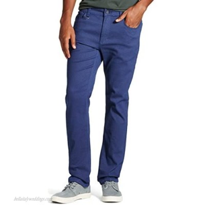 Modern Threads by Well Versed Men's 5 Pocket Twill Pants
