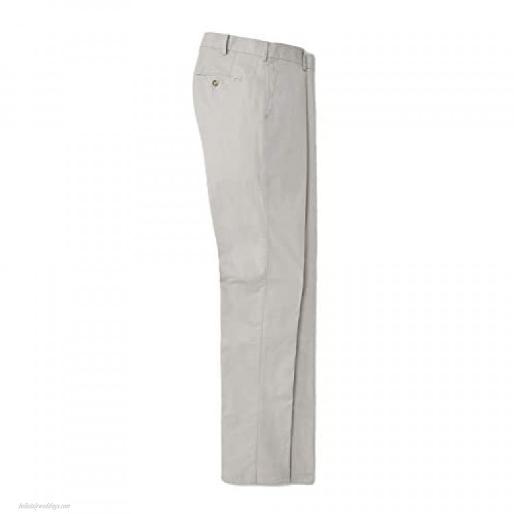 PETER MILLAR Mens Soft Touch Flat Front Pant ME0B48 - Ligth Grey - 42