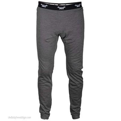 Merino 365 Men's Slim Pant 100% New Zealand Merino Base Layer Thermal Bottom