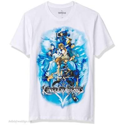 Disney Men's Mickey Mouse Kingdom Hearts T-Shirt