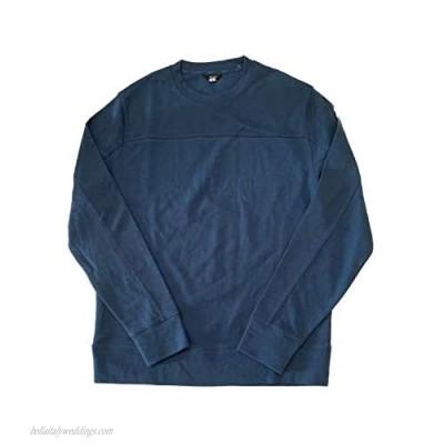 DKNY Men's Scoop Neck Long Sleeve Pullover