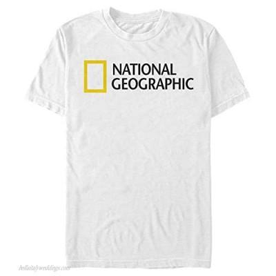 NATIONAL GEOGRAPHIC Men's NAT Geo Logo T-Shirt