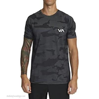 RVCA Men's Tech Short Sleeve Knits