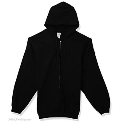 Gildan Men's Fleece Zip Hooded Sweatshirt Style G18600