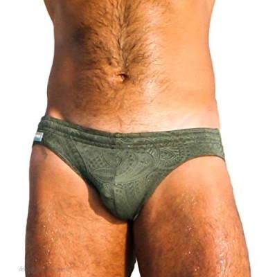 Taddlee Swimming Briefs Men Swimwear Sexy Swimsuits Bathing Suits Solid Bikini