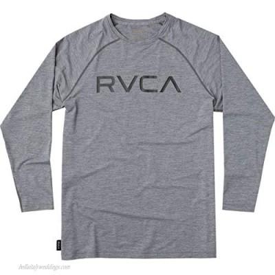 RVCA Men's Micro Mesh Long Sleeve Surf T-Shirt