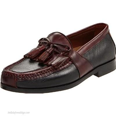 Johnston & Murphy Men's Aragon Kiltie Tassel Casual Dress Shoe|Classic Design|Leather Textile Lining|Leather Sole with Rubber Heel