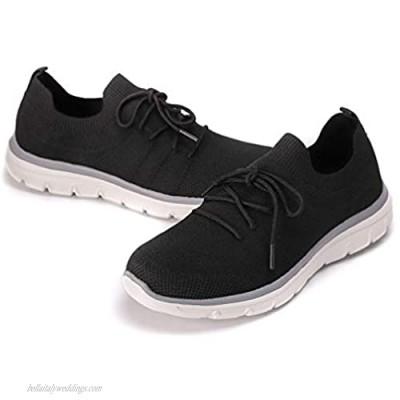 BEATIFIC BEE Men Sneakers Lightweight Breathable Sports Shoes Men's Walking Shoes-B-10