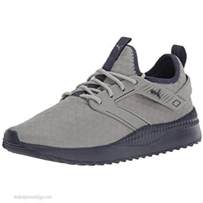 PUMA Men's Pacer Sneaker Limestone-Peacoat 11 M US