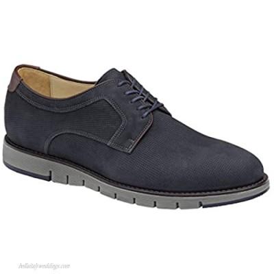 Johnston & Murphy Men's Martell Plain Toe | Casual Dress Shoe