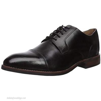 Nunn Bush Men Fifth Ave Cap Toe Oxford Dress Casual Lace Up Black 10.5 Medium