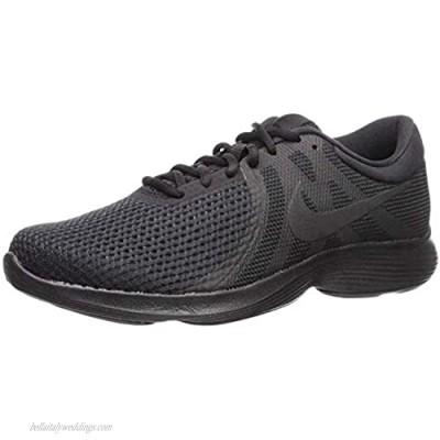 Nike Men's Revolution 4 Running Shoe Black/Black 10.5 Regular US