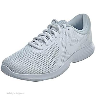 Nike Men's Revolution 4 Running Shoe White/White-Pure Platinum 11 Regular US