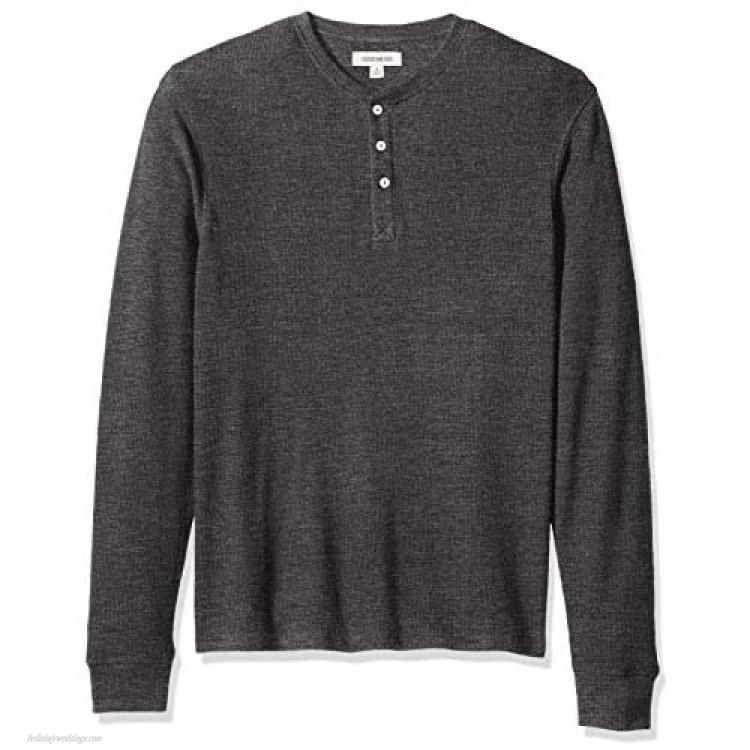 Brand - Goodthreads Men's Long-Sleeve Slub Thermal Henley