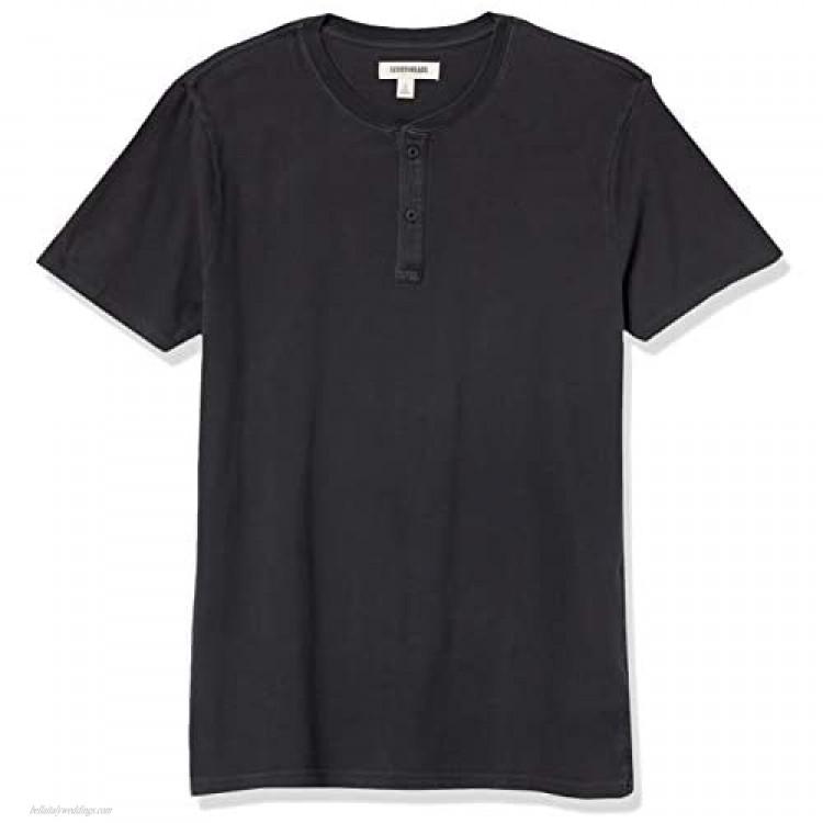 Goodthreads Men's Vintage Washed Short-Sleeve Henley