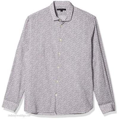 John Varvatos Star USA Men's Ross Slim Fit Long Sleeve Sport Shirt