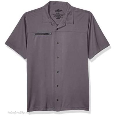Tru-Spec Men's Eco Tec Knit Camp Shirt Steel Grey X-Large Regular