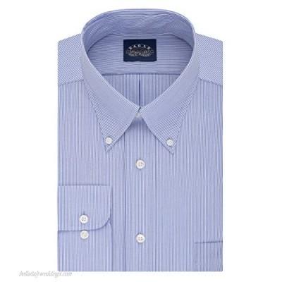 Eagle Men's BIG FIT Dress Shirts Non Iron Stretch Collar Stripe (Big and Tall)