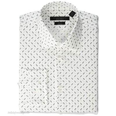 John Varvatos Star USA Men's Soho Stretch Slim Fit Dress Shirt