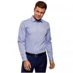 oodji Ultra Men's Printed Cotton Shirt